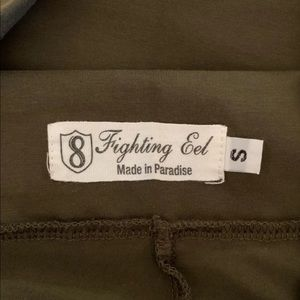 Fighting eel knit pants